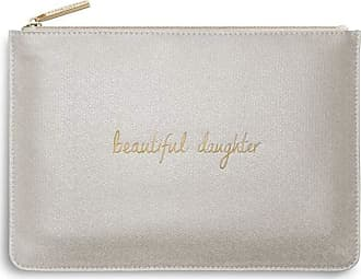 Katie Loxton Perfect Pouch Beautiful Daughter Champagne Shimmer