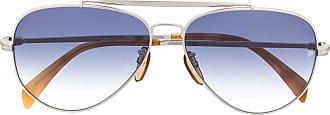 David Beckham Óculos de sol aviador DB 1004/S - Prateado