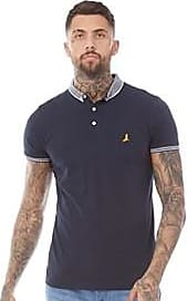 Brave Soul short sleeve jersey polo with contrast collar and sleeve trim