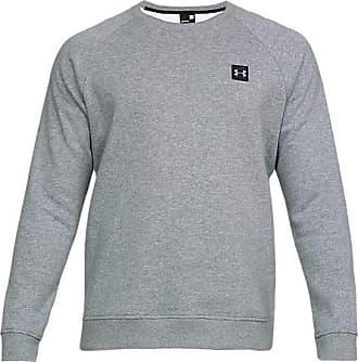 Under Armour Mens Rival Fleece Crewneck Sweatshirt, Grey