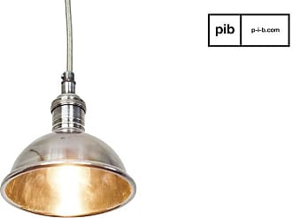 Chehoma Small silver-plated industrial design pendant light