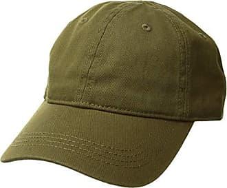 38fe9edd1160e Lacoste Mens Cotton Gabardine Cap with Signature Green Croc