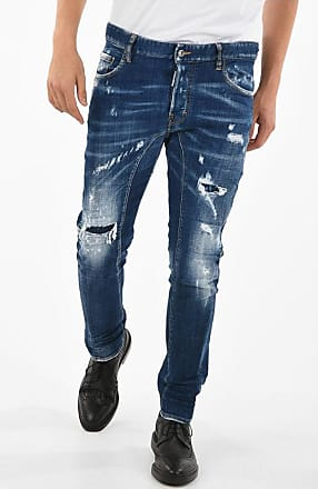 Dsquared2 16cm Destroyed TIDY BIKER Jeans Größe 52