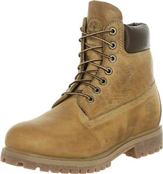 ba3479732f41e Timberland 6in premium boot, Chaussures montantes homme - Jaune (Wheat  Burnished Full Grain)