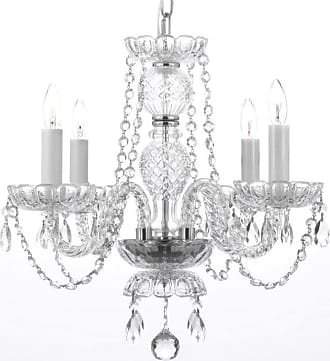 Gallery T40-407 Authentic 4 Light 1 Tier Crystal Candle Style