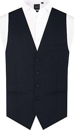 Dobell Boys Navy Waistcoat Regular Fit (Age 13-14)