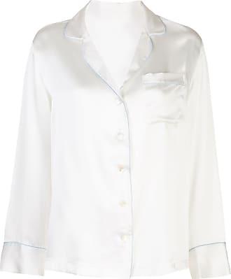 Kiki De Montparnasse pyjama long sleeve shirt - White