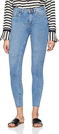 Jeans Skinny Femme Blue Light Blue 10W x 32L New Look High Waisted