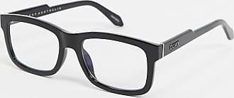 Quay Quay beatnik square glasses with black frame