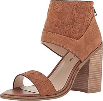 Kelsi Dagger Womens Merrik Dress Sandal, Cinnamon, 6 M US