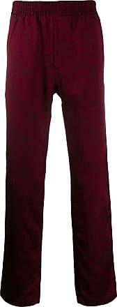 Paura Calça esportiva com padronagem - Vermelho