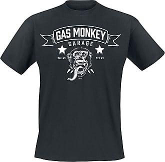 Gas Monkey Garage Blood, Sweat & Beers Men T-Shirt Black 3XL, 100% Cotton, Regular