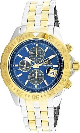 Invicta Mens Aviator 22989 Silver Stainless-Steel Japanese Quartz Diving Watch