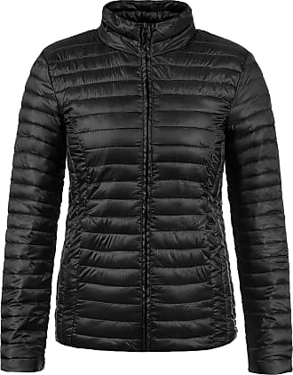Jacqueline de Yong ONLY Britta Womens Quilted Jacket Padded Jacket Puffer Jacket, Size:M, Colour:Black