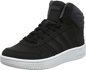 size 40 6f787 36823 adidas Hoops Mid 2.0 K, Chaussures de Basketball Mixte Enfant, Nero Core  Black