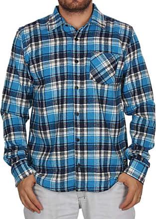 Hurley Camisa Manga Longa Hurley Plaid - Azul - M