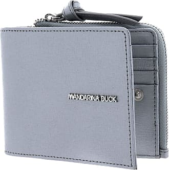 Mandarina Duck Essential CC Holder with Coin Pouch Silver
