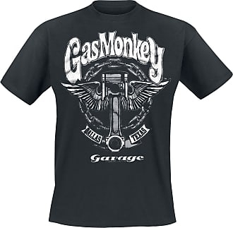 Gas Monkey Garage Big Piston - T-Shirt - schwarz