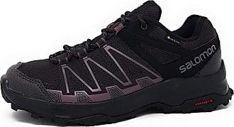Salomon Womens Leonis GTX Walking Shoe, Phantom/Phantom/Flint, 4.5 UK
