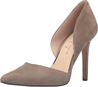 Jessica Simpson Womens Cenya Dress Pump, Olive Taupe, 10 M US