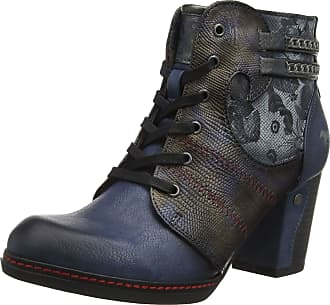 Mustang Womens Stiefelette Ankle Boots, Blue (Dunkelblau 800), 6.5 UK (40 EU)