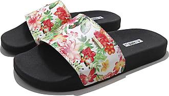 La Faire Chinelo Slide Feminino La Faire Estampado (43/44, Sola Preta)