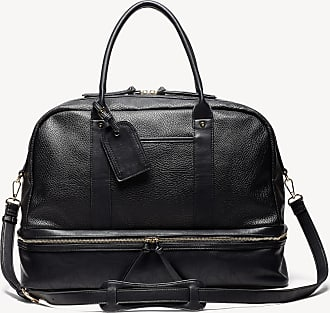 Sole Society Womens Mason Weekender Vegan Leather In Color: New Black Bag From Sole Society