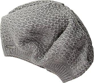 8510a1b4 Calvin Klein Womens Lurex Texture Beret, Heather Mid Grey One Size