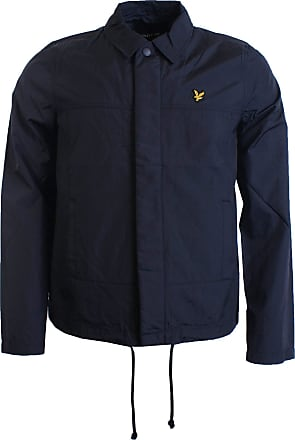 Lyle & Scott Nylon Coach Jacket Navy Blue JK1008V Large