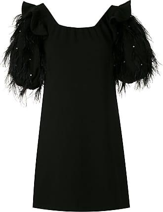 Andrea Bogosian Vestido Ruza couture - Preto