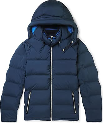 Orlebar Brown Albion Quilted Stretch-shell Hooded Down Jacket - Navy