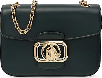 Lanvin Logoed Shoulder Bag Womens Green