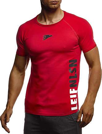 Leif Nelson Gym Mens T-Shirt Round Neck Collar LN-06279