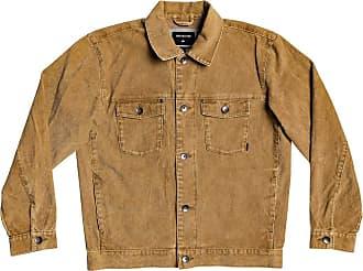 Quiksilver Mens PETROLINA Jacket, Rubber, Small
