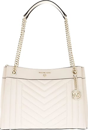 Michael Kors Tote - Susan MD Shoulder Light Cream - beige - Tote for ladies