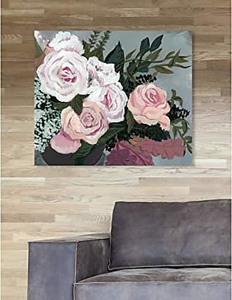 The Oliver Gal Artist Co. The Oliver Gal Artist Co. Floral Wall Art Canvas Prints Garden of Roses Home Décor, 24 x 20, White, Orange