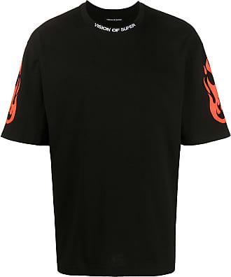 Vision Of Super T-shirt con stampa - Di colore nero