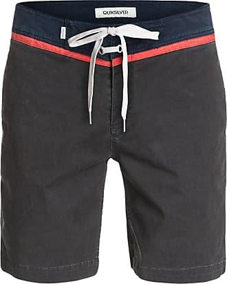 Quiksilver Mens Street Trunk Shorts, Grey (Tarmac), (Size:32)