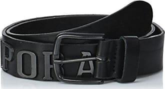Kaporal Ezel, Ceinture Homme, Noir (Black), 85 (Taille Fabricant  b5e67ccc025