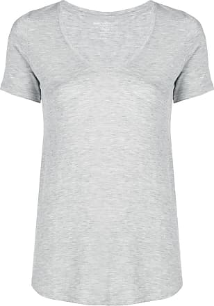 Majestic Filatures Camiseta decote arredondado - Cinza