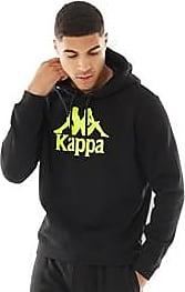 Kappa slim fit brushback fleece overhead hoodie
