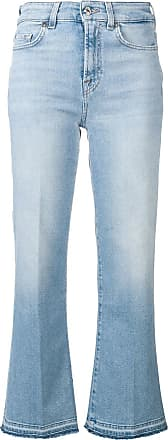 7 For All Mankind Calça jeans pantalona - Azul