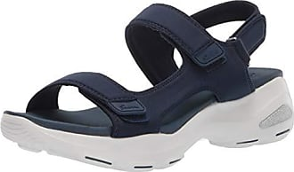 8cbe309ec60 Skechers Womens DLites Ultra-Camp Cool-Adjustable Asymmetrical Slingback  Sandal