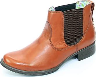 Generico botinhas feminina, em legitimo couro bovino tipo latego 33/40, modelo 314 (33, latego pinhão)