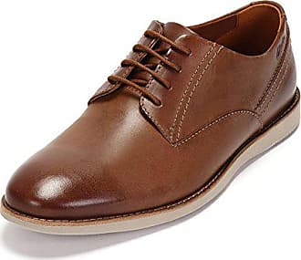 45a3c63ee6005c Clarks Franson Plain, Derby homme, Marron (Tan Leather), 44.5 EU