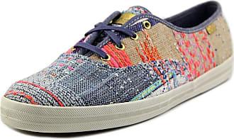 4863673e164b42 Keds Womens X Malhia Kent Champion Kikaou Blue Multi Sneaker - 10
