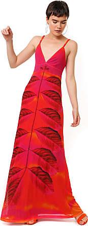 Desigual Vestido Desigual Longo Tule Marcela Pink/Laranja