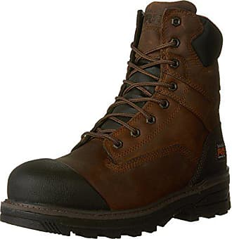 Timberland PRO Mens 8 Resistor CSA Work Boot, Brown Full-Grain Leather, 7.5 W US
