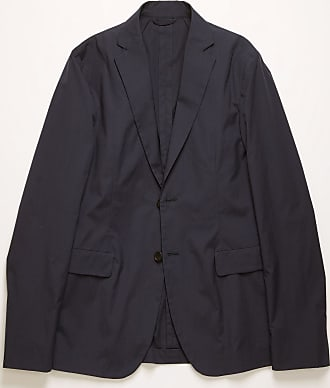 Acne Studios FN-MN-SUIT000078 Dark Blue Cotton-poplin suit jacket