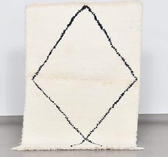 Benisouk Beni Ourain rug 3.1 x 3.9 ft